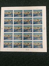 US 2007 Air Force One, Full Sheet Priority, Scott 4144, NH