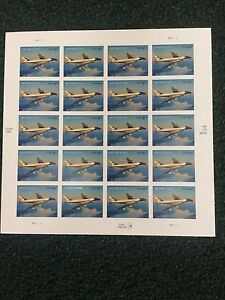 US 2007 Air Force One, Full Sheet Priority, Scott 4144, NH