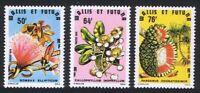 Wallis and Futuna Flowering Trees 3v 1979 ** MNH SG#319-321 SC#231-233