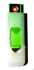 USB Smart Lighter by Champ High Power Long Life Rechargeable Brand New GREEN