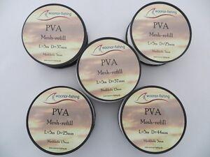 PVA-Mesh refill, Pva-Netz, Boilies, Partikel, Karpfen, anfüttern.