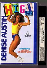 DENISE AUSTIN HIGH ENERGY AEROBICS WORKOUT [VHS] VIDEO 1989 Vintage Retro