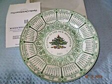 Spode England Christmas Tree Plate 2001 Annual Collection Plate w/Box S3324 AO