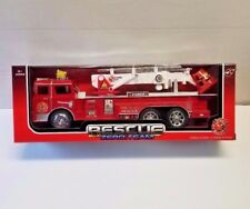 """12"""" Fire Truck Rescue Truck With Light & Sound Kids' Play Toys Vehicle New ST2"""