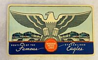 VINTAGE MOPAC MISSOURI PACIFIC ROUTE OF THE STREAMLINED EAGLE WALLET CALENDAR