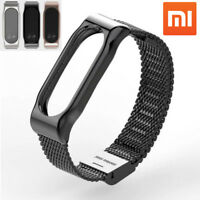 Fit Xiaomi Mi Band 2 Smart Bracelet Stainless Steel Watch Band Strap Wrist Lot