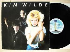 Kim Wilde 1st A-1 B-1 UK LP Kids In America RAK SRAK 544 1981 G/EX+