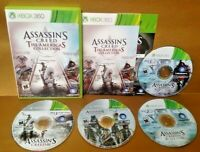Assassin's Creed: The Americas Collection  - MICROSOFT XBOX 360 Game Tested