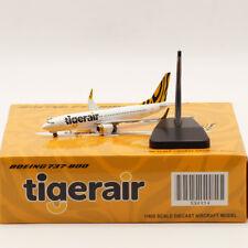 1:400 JC WINGS Tigerair BOEING 737-800 Passenger Airplane Diecast Aircraft Model