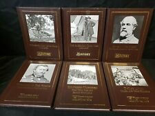 Lot Set 6 History Channel Club Books Story of American Civil War & D-Day 1944