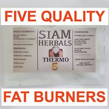 T5 5 X POWERFUL BEST SLIMMING HERBS Weight Loss Diet Pills Fat Burner 60 PILL