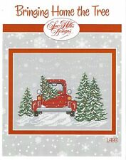 Bringing Home the Tree by Sue Hillis Designs Christmas Cross Stitch Pattern