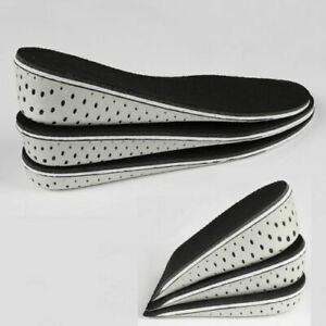 Increased Insole Heel Lift Unisex Cushioning Lifter Inserted In The Insole