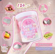 JELLY SNAIL CANDY BODY SCRUB 3 IN 1 MASK SOAP SCRUB BRIGHTENING SKIN