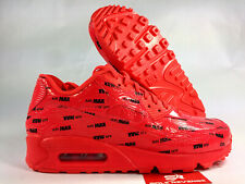 innovative design 0dfe2 c326c New Nike Air Max 90 700155-604 Bright Crimson Black Bold Brand Pack c1
