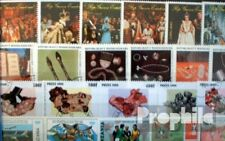Africa 100 different stamps