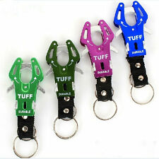 2Pcs Tiger Hook Lock Carabiner Clip Hiking Climbing Tools Keyring Keychain Rings