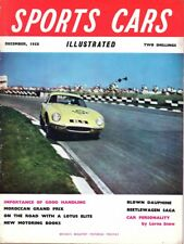 SPORTS CARS ILLUSTRATED Vol 2 Number 5 DECEMBER 1958 * Excellent Condition *