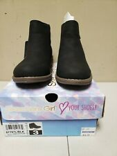 Skechers Girl Mad Dash Black Bootie New Size 3 - NWT