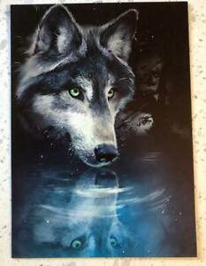 Wolf Reflection All Occasion Tree-Free Greeting Card w/Matching Envelope!