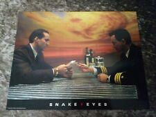 New listing Snake Eyes lobby cards - Nicolas Cage, Gary Sinise - Set of 6
