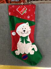 "cat kitten Stocking 18""  (A-32)"