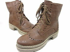 WANTED SHOES, HARPER ANKLE BOOT, WOMENS, TAN, US 8.5M, NEW WITHOUT ORIGINAL BOX