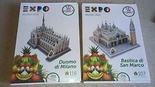 Puzzle 3D Expo Milano 2015