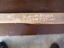 lot placage noyer long 2,25 m larg 9,5 cm desing marqueterie 34 feuilles