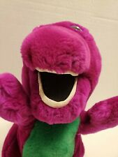 Vintage DAKIN Stuffed Plush Barney Dinosaur Toy Animal Doll