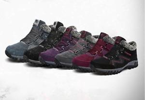 Women's winter villi thermal comfortable high top boots