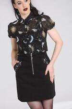 Falda Tubo estrellas con cremallera Interstellar Mini Skirt by Hellbunny