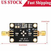 50K-4GHZ RF Wideband Amplifier 25DB low-noise LNA Broadband Module Receiver New