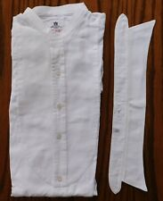Vintage Marcella shirt & collar Richard Hunt size 15 vintage collarless tunic D