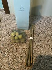 PartyLite Decorative Bamboo Reeds And Balls Accents