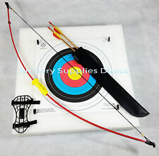 ASD Archery Leisure Bow Set Package with Arrows Target and Faces Kit ** Light **