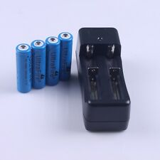 4 x Ultrafire TR14500 AA 1200 mAh Rechargeable Batteries + 1PCS Charger