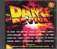 """RARO CD FUORI CATALOGO REMIXATO""""DANCE REVIVAL VOL.1""""CAPPELLA 49 ERS FPI PROJECT"""