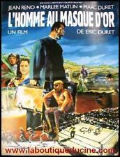 L'HOMME AU MASQUE D'OR Affiche Cinéma Poster JEAN RENO
