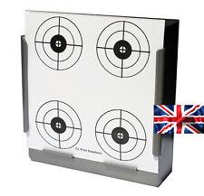 100 Air Rifle Shooting 4 Crosshair Circles Paper Targets 14cm Pistol ( 100gsm