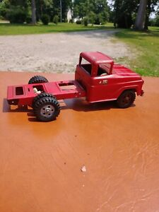 Vintage Pressed Steel Tonka Truck Cab And Chassis For Parts Or Restore.