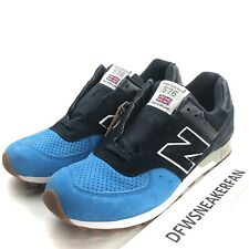 New Balance 567 M576PNB Retro Men's 9.5 Shoes Blue Navy Suede White Gum England