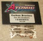 ATOMIC Brushes For M1 End bell Silver Brushed Motor Mini-Z RC Cars #MO-008