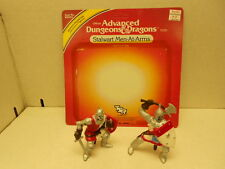 Advanced Dungeons & Dragons LJN Stalwart Men-At-Arms Complete With Card