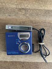 Sony Net MD Walkman MZ-NF610 Minidisc Player Recorder Type S & Remote RM-MC37LT