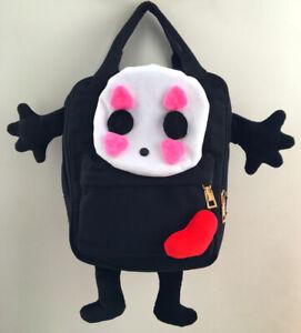 Ghibli Spirited Away No Face Canvas Bag Rucksack Satchel Anime School Backpack-M