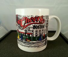 VINTAGE CHEERS MUG / CUP Collectible Linyl China Silver Phoenix TV Show