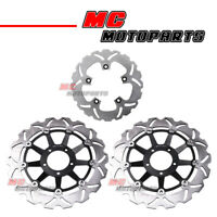 For Ducati 749 999 Dark Monoposto 03-06 Front Rear Floating Disc Brake Rotor Set