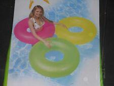 """Großer Gelb Frostet Schwimmring von INTEX inflatable Toy 90cm / 36"""""""