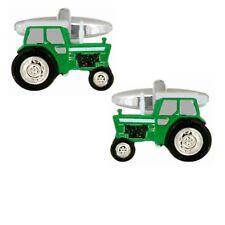 British Made Dalaco Green Tractor Cufflinks DAL90-1404